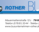 Rother Bus Waldkirch